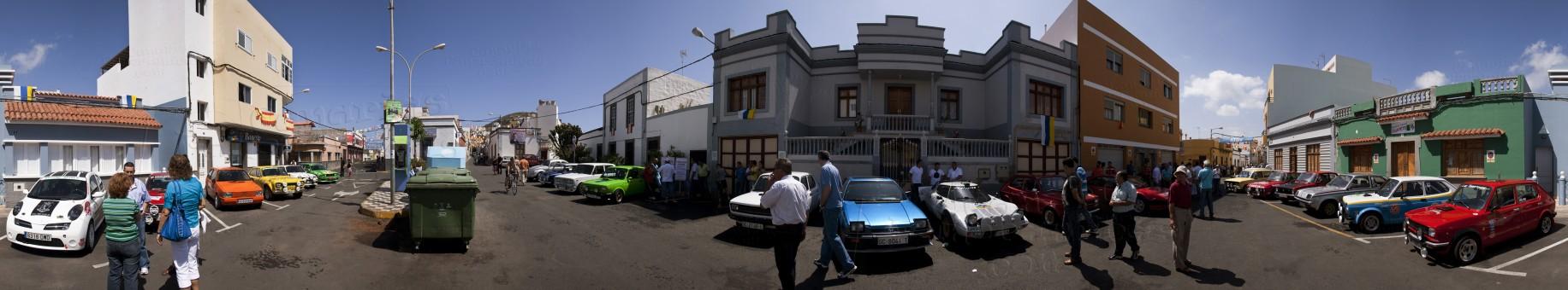 Panoye :: Exposición de coches clásicos en Cardones, Arucas. Isla ...